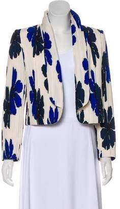 Chloé Pleated Silk Jacket