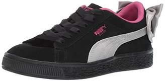 Puma Baby Suede Bow Sneaker