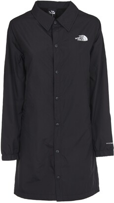 The North Face Long Telegraphic Coach Black Jacket