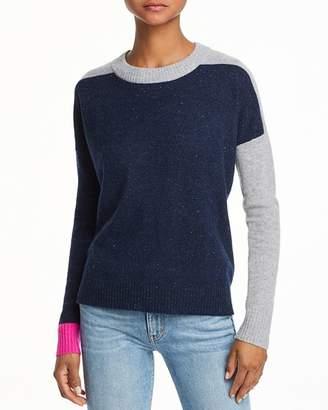 Aqua Color-Block Cashmere Sweater - 100% Exclusive