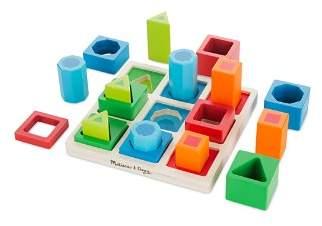 Melissa & Doug Wooden Toy Bundle - Ages 3+