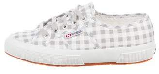 Superga Gingham Low-Top Sneakers w/ Tags
