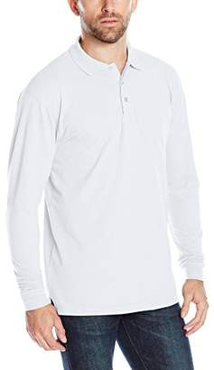 Clique Men's Long-Sleeve Evans Pique Polo
