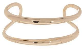 Halogen Double Row Cuff Bracelet