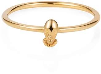 """Lee Renee Tiny Voodoo Orunla Ring """" Gold Vermeil"""