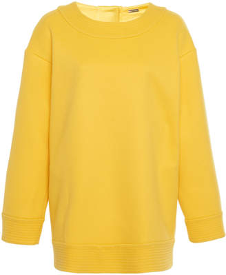 ADAM by Adam Lippes Trapunto Oversized Wool Sweater