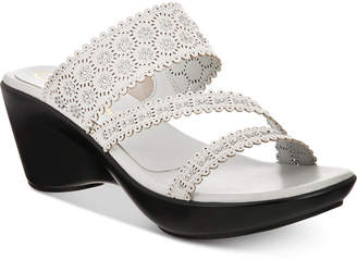 Callisto Tyler Embellished Slide Wedge Sandals, Created for Macy's Women's Shoes