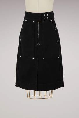 Isabel Marant Nancy cotton skirt