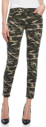 Kensie Camo Skinny Ankle Jeans