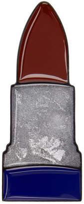 Acne Studios Tricolor Lipstick Brooch