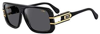 Cazal Sunglass CZ 658/3 color 001SG Black-Gold/Grey Lenses Size 58mm