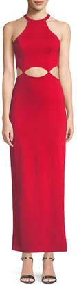 Fame & Partners The Annalise Long Cutout Dress