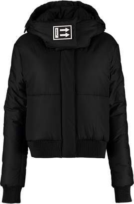 Off-White Off White Down Jacket With Detachable Hood