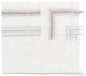 Le Tricot Perugia striped scarf