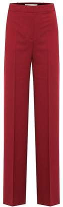 Victoria Victoria Beckham High-rise twill straight pants