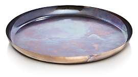Iridescent Large Round Tray
