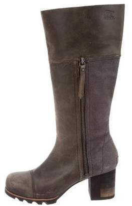 Sorel Leather Knee Boots