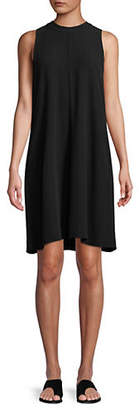 Eileen Fisher Mock Neck Short Dress