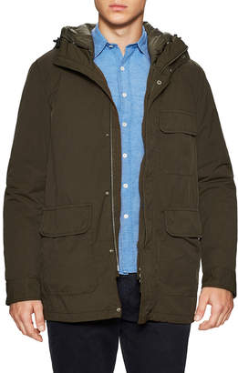 Aspesi Hooded Padded Field Jacket
