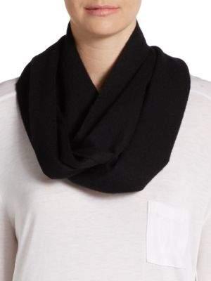 Saks Fifth Avenue BLACK Solid Cashmere Scarf