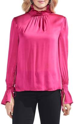 Vince Camuto Tie Flare Cuff Blouse