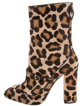 No.21 No. 21 Ponyhair Mid-Calf Boots w/ Tags