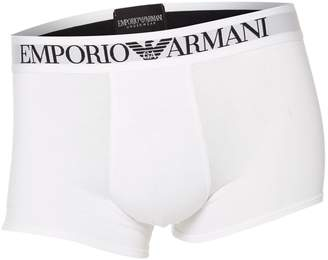 Emporio Armani Men's Large logo boxer brief