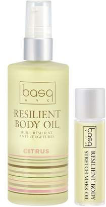 Basq NYC Citrus Resilient Body Stretch Mark Oil Duo