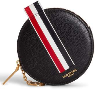 Thom Browne Round Leather Coin Purse