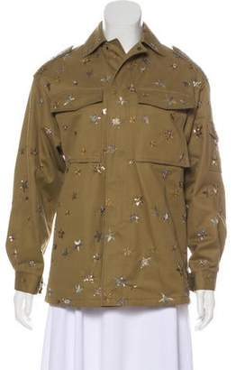Valentino Embellished Safari Jacket