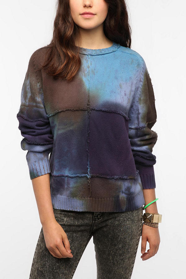 Urban Outfitters Urban Renewal Tie Dye Sweater