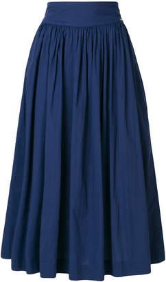 Woolrich a-line midi skirt
