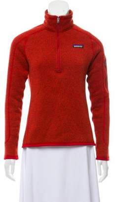Patagonia Pullover Mock Neck Sweater