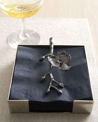 Michael Aram Black Orchid Cocktail Napkin Holder