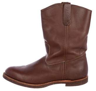 Red Wing Shoes Pecos Leather Tall Boots