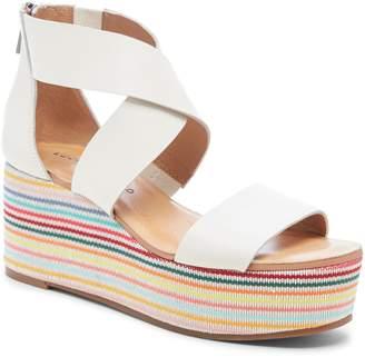 6233f3c2052 Lucky Brand Platform Wedge Women s Sandals - ShopStyle