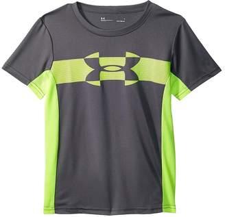 Under Armour Kids Mesh Logo Tech Short Sleeve Tee Boy's T Shirt
