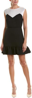 Sandro Flounced Skirt Cocktail Dress