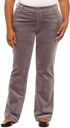 ST. JOHN'S BAY Bootcut Corduroy Pant - Plus