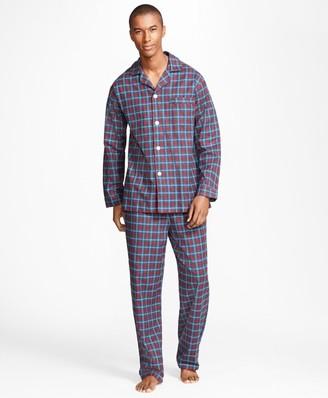 Brooks Brothers Alternating Plaid Pajamas