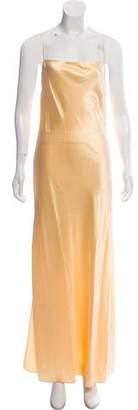 Marina Moscone Silk Slip Dress w/ Tags