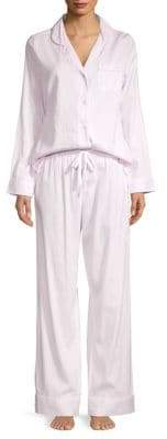 Saks Fifth Avenue COLLECTION Striped Pajamas Set
