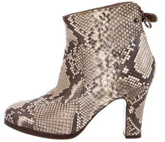 Fiorentini+Baker Python Ankle Boots