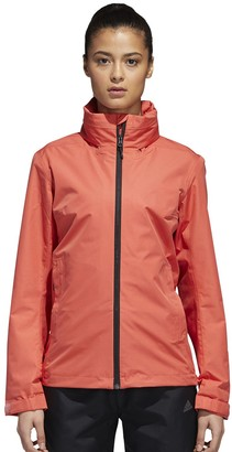 adidas Women's Wandertag Hooded Rain Jacket