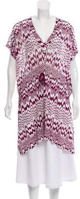 Missoni Mare Abstract Print Knit Top