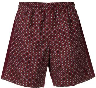 Alexander McQueen printed swimming shorts