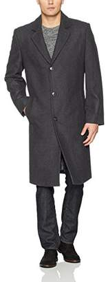 London Fog Men's Signature Wool-Blend Topcoat