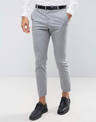 Selected slim suit pants with stretch