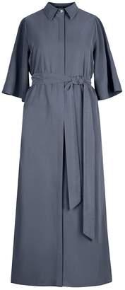 Flow Belted Shirt Dress