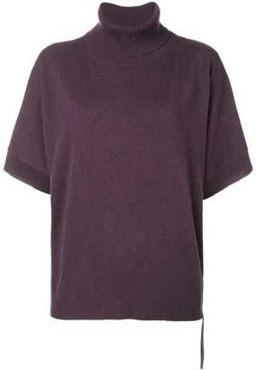 Fabiana Filippi knitted short sleeve top